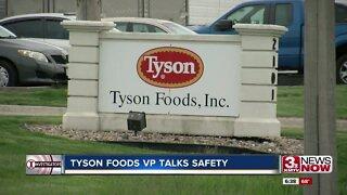 After Dakota City plant closure, deaths, Tyson Foods VP talks safety