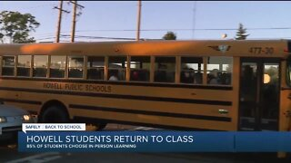 Howell students return to class