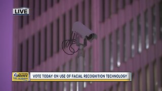 Vote today on use of facial recognition technology