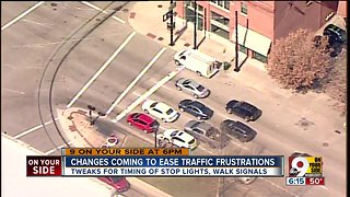 Changes coming to ease traffic frustrations