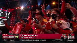 Buccaneers pick Joe Tryon in the first round of the NFL Draft