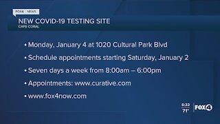 New Cape Coral COVID testing site