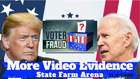 More Video Evidence From State Farm Arena - Georgia Election - 11/3/2020
