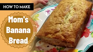 How To Make Banana Bread Easy At Home/Sunday Special Sweets