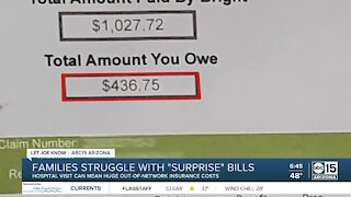 Families struggle with surprise hospital/doctor bills during pandemic
