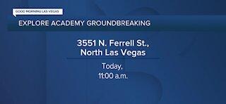 Explore Academy breaks ground in North Las Vegas