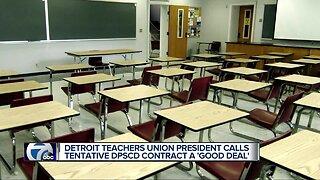 Detroit Teachers Union reaches tentative contract