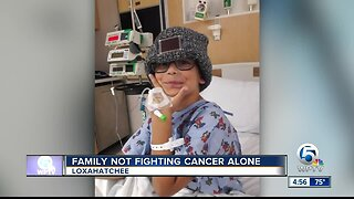 Family not fighting cancer alone