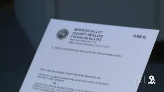 What does it mean to 'cure' a ballot?