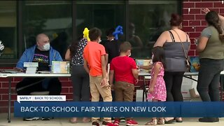 Back-to-school fair takes on new look