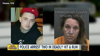 Police arrest pair involved in fatal hit-and-run