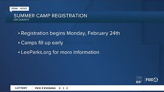 Lee County Parks and Recreation camp registration