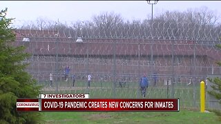 COVID-19 pandemic creates new concerns for inmates