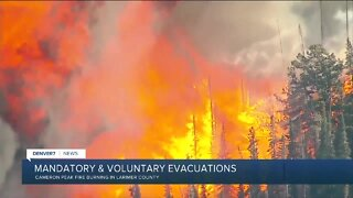 Cameron Peak Fire grows to 5,424 acres, with 0% containment