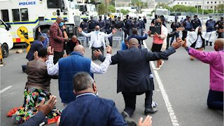 Pastors Protest Against Church Closures during Easter