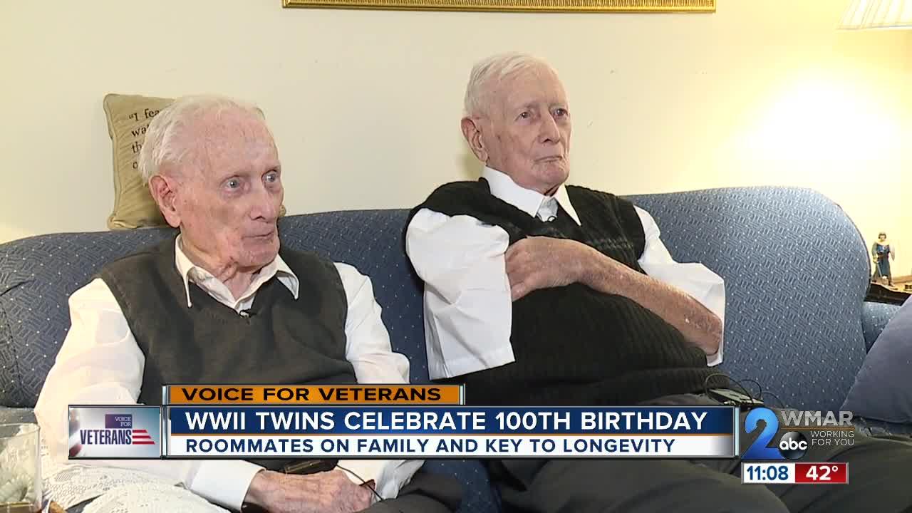 WWII twins celebrate 100th birthday