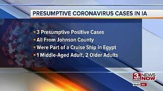 Iowa Coronavirus Cases
