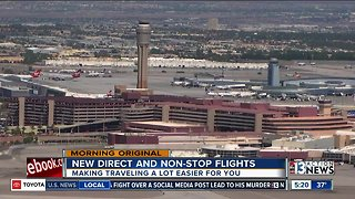 New flights, routes at McCarran to help boost local economy, ease travel