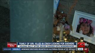 Family of 5-year-old killed in crash looking for answers