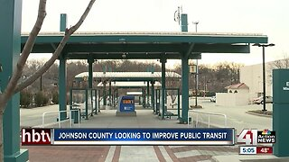 Johnson County looking to improve public transit
