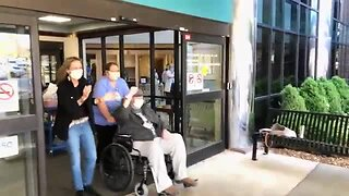 Lawrence Memorial celebrates 1st COVID-19 patient's recovery