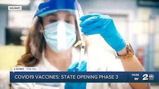 Oklahoma opens vaccine eligibility to phase 3 groups