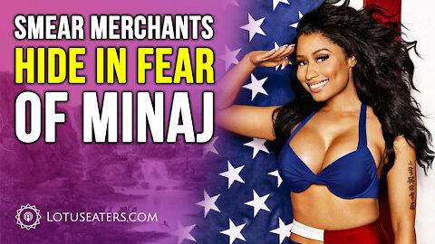 Nicki Minaj Goes After the Journalists #BallGate