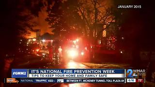 Woman who loses family in fire talks about fire safety