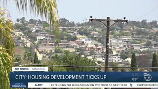 Housing development ticks up