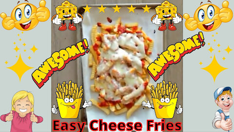 Easy Cheese Fries - Fun Easy Recipe!