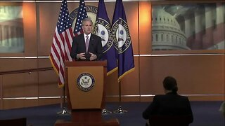 Kevin McCarthy hold press briefing on coronavirus stimulus package