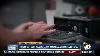 Unemployment claims grow amid search for solutions