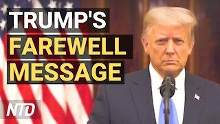 Farewell Address of President Donald J. Trump | NTD