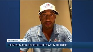 Flint's Willie Mack talks about playing in front of family ahead of Detroit's Rocket Mortgage Classic