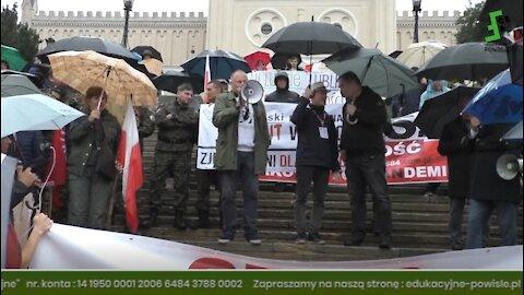 Rafał Mossakowski: Murem za Grzegorzem! StrefaGazy.PL Przed Marszem Wolnych Ludzi, Lublin 17.09.2021