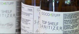 Skin Care Company & Distillery make hand sanitizer
