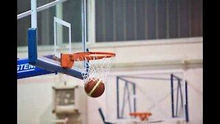 Basketball wizard performs sensational trick shots