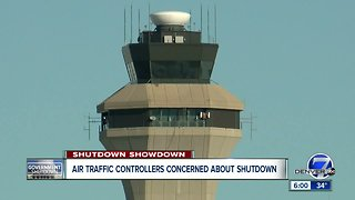 Air traffic controllers concerned about shutdown