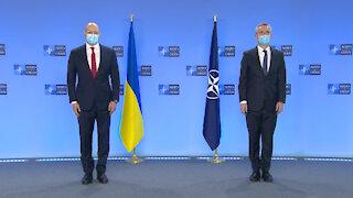 NATO Secretary General welcomes Ukrainian Prime Minister