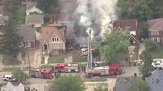 House explosion on Detroit's east side
