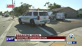 Shooting investigation in Riviera Beach