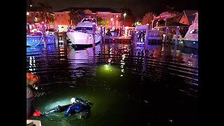 Woman dies after being pulled from submerged vehicle in Boynton Beach