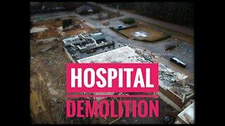Hospital Demolition   DJI Spark