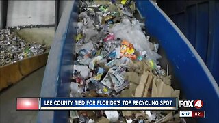 Lee County ranked top in state for recycling
