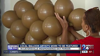 Local balloon artist's work to be featured in Catonsville Independence Day parade