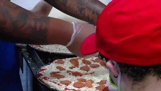 Ohio Boy gets pizza party from Buffalo Bills