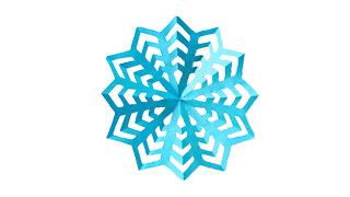 How To Make a Paper Snowflake (The Sunshine)