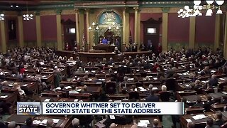 Gov. Whitmer set to deliver second State of the State address