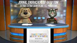 Jornal engraçado do gato tom: Garota que fez programa... [Frases e Poemas]