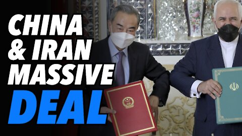China & Iran sign MASSIVE 25-Year $400BN infrastructure for oil deal